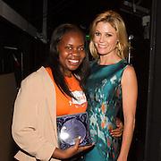 Step Up teen honoree Tamia Walker and Julie Bowen
