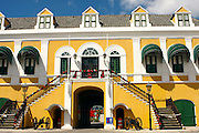 Curacao, Netherlands Antilles, Willemstad. Fort Amsterdam seat of the federal Government of the Netherlands Antilles