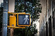 Stop light. Soho, NYC