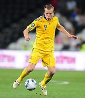 Fotball<br /> 06.06.2011<br /> Foto: Witters/Digitalsport<br /> NORWAY ONLY<br /> <br /> Oleg Gusev (Ukraine)<br /> Testspiel, Ukraine - Frankreich 1:4<br /> <br /> Testspiel, Ukraina v Frankrike 1:4