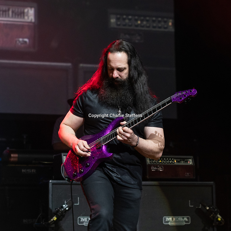 JOHN PETRUCCI at G3 2018 at the Orpheum Theatre in Los Angeles, California