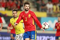 Spain's Gerard Pique during international friendly match. June 7,2017.(ALTERPHOTOS/Acero)