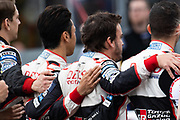 June 10-16, 2019: 24 hours of Le Mans. 8 Fernando Alonso, Toyota Gazoo Racing, TOYOTA TS050 - HYBRID Grid for the Le Mans 24h