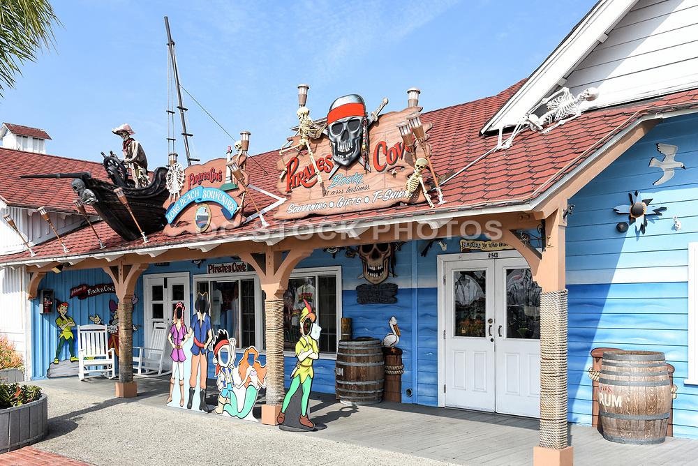 Pirates Cove Gift Shop at Long Beach Souvenirs at Shoreline Village