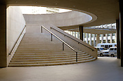wide rounded staircase downtown NYC