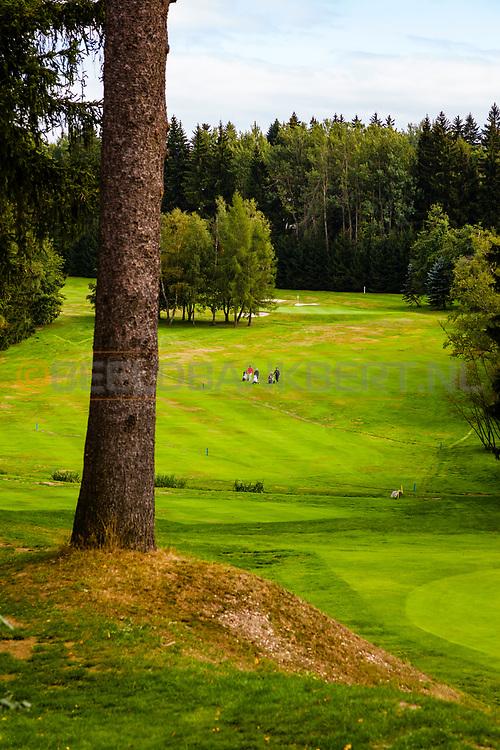 20-09-2015: Royal Golf Club Marianske Lazne in Marianske Lazne (Marienbad), Tsjechië.<br /> Foto: Mooie hoogteverschillen