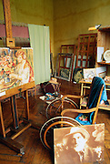 France, Provence, Cagnes-sur-Mer, home and studio of Renoir