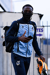 David Tutonda of Bristol Rovers arrives at Memorial Stadium prior to kick off - Mandatory by-line: Ryan Hiscott/JMP - 27/10/2020 - FOOTBALL - Memorial Stadium - Bristol, England - Bristol Rovers v Hull City - Sky Bet League One