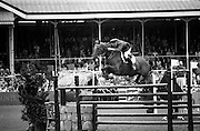 "07/08/1987<br /> 08/07/1987<br /> 07 August 1987<br /> Bank of Irelands Nations Cup for the Aga Khan trophy competition. Commandant Gerry Mullins on ""Rockbarton""."