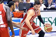 DESCRIZIONE : Milano Lega A 2014-15  EA7 Emporio Armani Milano vs Acqua Vitasnella Cantù<br /> GIOCATORE : Alessandro Gentile<br /> CATEGORIA : Palleggio<br /> SQUADRA : EA7 Emporio Armani Milano<br /> EVENTO : Campionato Lega A 2014-2015<br /> GARA : EA7 Emporio Armani Milano vs Acqua Vitasnella Cantù<br /> DATA : 16/11/2014<br /> SPORT : Pallacanestro <br /> AUTORE : Agenzia Ciamillo-Castoria/I.Mancini<br /> Galleria : Lega Basket A 2014-2015  <br /> Fotonotizia : Milano Lega A 2014-2015 Pallacanestro : EA7 Emporio Armani Milano vs Acqua Vitasnella Cantù<br /> Predefinita :