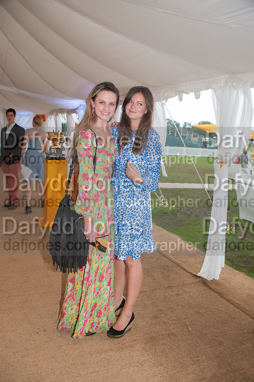 Bryony Daniels; Lady Natasha Rufus-Isaacs, The Veuve Clicquot Gold Cup Final.<br /> Cowdray Park Polo Club, Midhurst, , West Sussex. 15 July 2012.