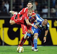 Fotball<br /> Tyskland<br /> Foto: Witters/Digitalsport<br /> NORWAY ONLY<br /> <br /> 27.11.2009<br /> <br /> v.l. Maniche, Youssef Mohamad, Joel Epalle Bochum<br /> <br /> Bundesliga VfL Bochum - 1. FC Köln
