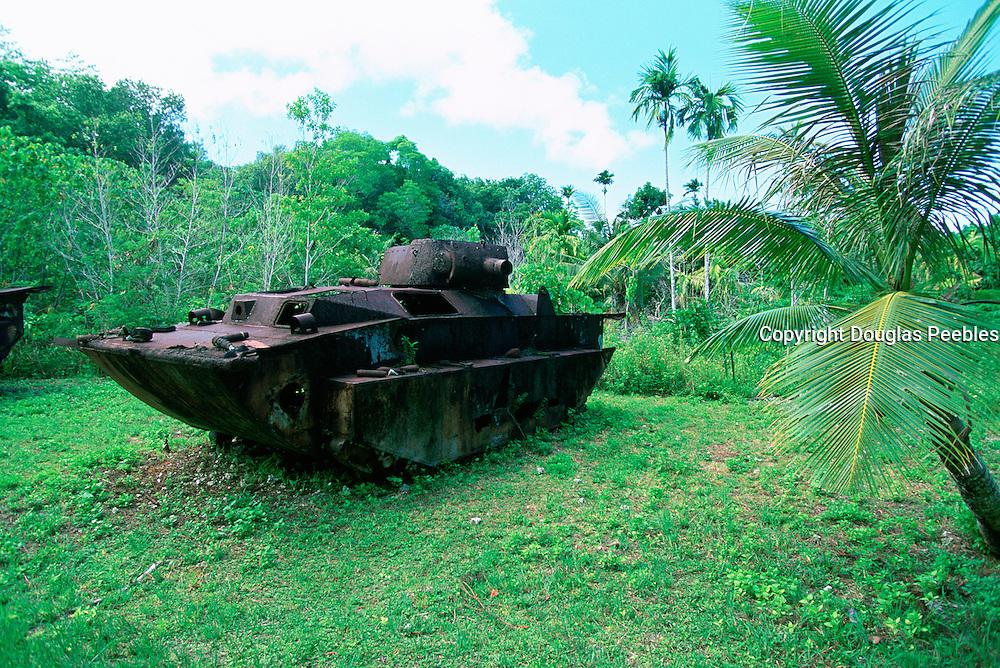 World War II Relics, Peleliu, Palau, Micronesia<br />