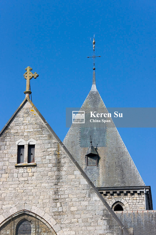 Church in a town near Antwerp, Belgium