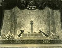 1926 Curtain at the El Capitan Theater