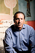 Portraits of Howard Schultz, Chairman & CEO of Starbucks Coffee.  Photographed by Brian Smale in 2008 for the Wall Street Journal, in Starbucks Seattle offices.