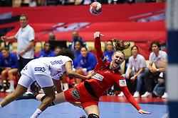 Anne Mette Hansen. EHF Euro 2020 Group A match between France and Denmark in Jyske Bank Boxen, Herning, Denmark on December 8, 2020. Photo Credit: Allan Jensen/EVENTMEDIA.