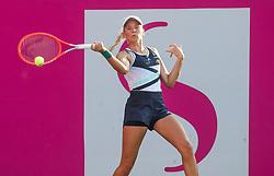PORTOROZ, SLOVENIA - SEPTEMBER 13: Nika Radisic of Slovenia competes during the 1st Round of WTA 250 Zavarovalnica Sava Portoroz at SRC Marina, on September 13, 2021 in Portoroz / Portorose, Slovenia. Photo by Vid Ponikvar / Sportida