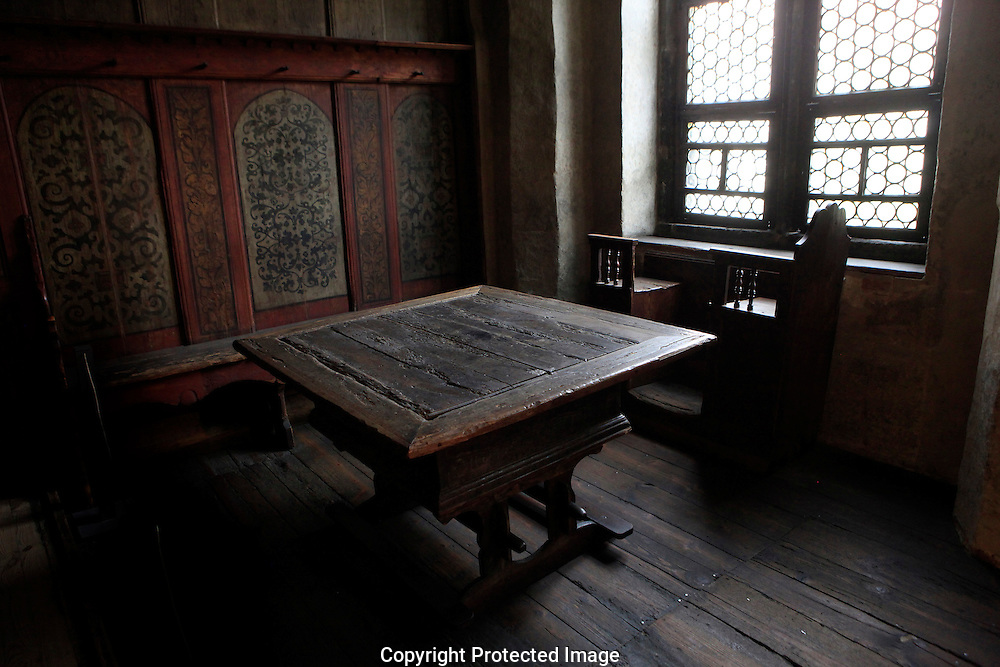 The table that Martin Luther worked at<br /> in the home of Martin Luther<br /> Photo by Dennis Brack
