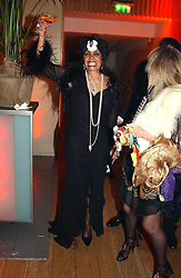 at Andy & Patti Wong's Chinese New Year party to celebrate the year of the Rooster held at the Great Eastern Hotel, Liverpool Street, London on 29th January 2005.  Guests were invited to dress in 1920's Shanghai fashion.<br /><br />NON EXCLUSIVE - WORLD RIGHTS