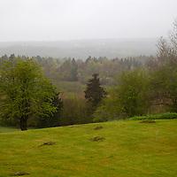 North America, Canada, Nova Scotia, Guysborough. View from the DesBarres Manor Inn, Guysborough.