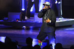 © Licensed to London News Pictures. 01/07/2012. London,Britain.American hip hop artist, Big Boi of Outkast performing during a concert at O2 Brixton Academy in London 31 June 2012. Photo credit : Thomas Campean/LNP