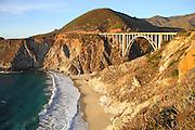 Bixby Creek Bridge in Big Sur California