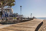 Downtown Laguna Beach on the Boardwalk at the Main Beach