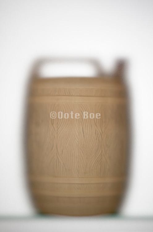 semi transparent plastic wine canister