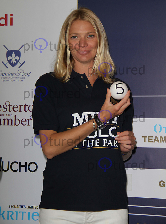 Jodie Kidd MINT Polo In the Park, The Hurlingham Club, London, UK, 10 May 2011:  Contact: Rich@Piqtured.com +44(0)7941 079620 (Picture by Richard Goldschmidt)