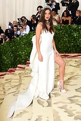 Hailee Steinfeld attending the Metropolitan Museum of Art Costume Institute Benefit Gala 2018 in New York, USA.