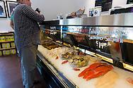 The Brigham Fish Market, run by Native American sisters Terrie Brigham and Kim Brigham Campbell in Cascade Locks, Oregon