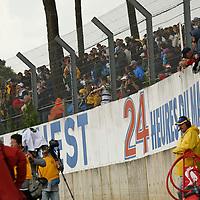 Stands with spectators, Le Mans 24Hr 2007