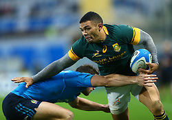 November 19, 2016 - Rome, Italy - Bryan Habana (S)  during the international match between Italy v South Africa at Stadio Olimpico on November 19, 2016 in Rome, Italy. (Credit Image: © Matteo Ciambelli/NurPhoto via ZUMA Press)