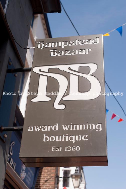 Hampstead Bazaar, Bond Street, Brighton, East Sussex, Britain - 05-Apr 2010
