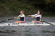 Crew: 93 - Couper / Hardwick - Auriol Kensington Rowing Club - W 2- Club <br /> <br /> Pairs Head 2020