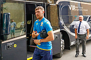 Ryan Edmondson arrives during the Pre-Season Friendly match between Tadcaster Albion and Leeds United at i2i Stadium, Tadcaster, United Kingdom on 17 July 2019.