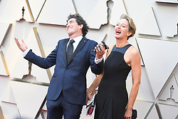 February 24, 2019 - Los Angeles, California, U.S - ROBBIE RYAN AND HIS WIFE during red carpet arrivals for the 91st Academy Awards, presented by the Academy of Motion Picture Arts and Sciences (AMPAS), at the Dolby Theatre in Hollywood. (Credit Image: © Kevin Sullivan via ZUMA Wire)