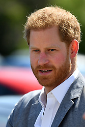 The Duke of Sussex arrives at the OXSRAD Disability Sports and Leisure Centre, in Oxford.