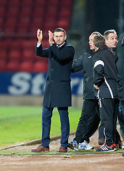 Ross County's manager Jim McIntrye at the end. St Johnstone 2 v 4 Ross County. SPFL Ladbrokes Premiership game played 19/11/2016 at St Johnstone's home ground, McDiarmid Park.