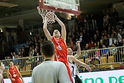 Alen Omic during Slovenian basketball All Stars Grosuplje 2013 event, on December 29, 2013 in Arena Brinje, Grosuplje, Slovenia. (Photo By Urban Urbanc / Sportida.com)