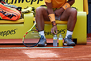 Rafael Nadal of Spain during the Mutua Madrid Open 2018, tennis match on May 9, 2018 played at Caja Magica in Madrid, Spain - Photo Oscar J Barroso / SpainProSportsImages / DPPI / ProSportsImages / DPPI