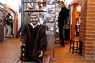 On the Coca leave  museum of La Paz