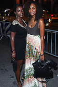 l to r: Rijah Ahmed and Gillela Macabe Mat Tyler Perry's special New York Premiere of ' I Can Do Bad all By Myself ' held at the School of Visual Arts Theater on September 8, 2009 in New York City.