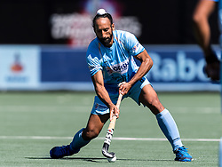 Sardar Singh of India during the Champions Trophy finale between the Australia and India on the fields of BH&BC Breda on Juli 1, 2018 in Breda, the Netherlands.