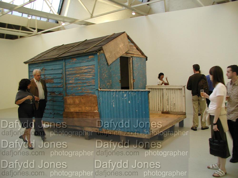 Ant Noises 2. Saatchi Gallery. 12 September 2000. © Copyright Photograph by Dafydd Jones 66 Stockwell Park Rd. London SW9 0DA Tel 020 7733 0108 www.dafjones.com