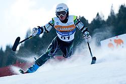 MISAWA Hiraku, JPN, Slalom, 2013 IPC Alpine Skiing World Championships, La Molina, Spain