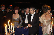 COUNTESS OF MARCH AND KINRARA, NICK MASON AND ROWAN ATKINSON, Goodwood Revival Ball. Saturday 17 September 2005.  ONE TIME USE ONLY - DO NOT ARCHIVE  © Copyright Photograph by Dafydd Jones 66 Stockwell Park Rd. London SW9 0DA Tel 020 7733 0108 www.dafjones.com