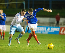 Cowdenbeath 3 v 4 Forfar Athletic, Scottish Football League Division Two game played 17/12/2016 at Central Park.