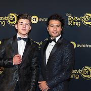 NLD/Amsterdam/20191009 - Uitreiking Gouden Televizier Ring Gala 2019, Alkan Coklu en Vincent Visser